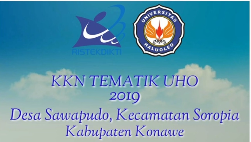 Video Dokumenter KKN Tematik 2019 Desa Sawapudo